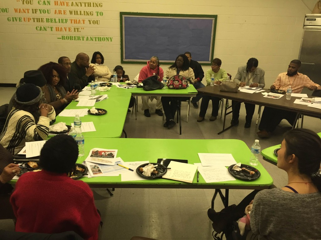 Mantua Greenway Resident Advisory Committee January 2016 Meeting