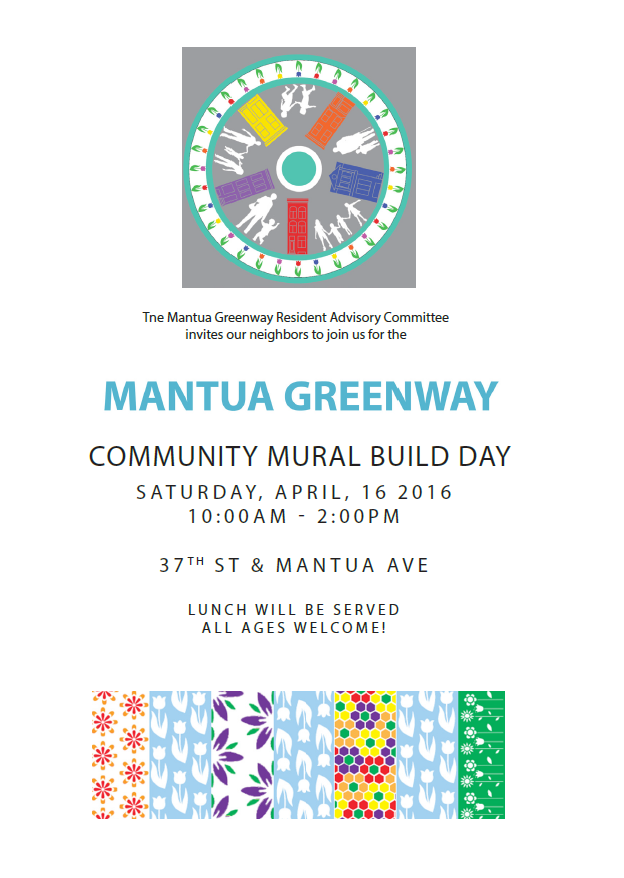 Community Build Day Flyer
