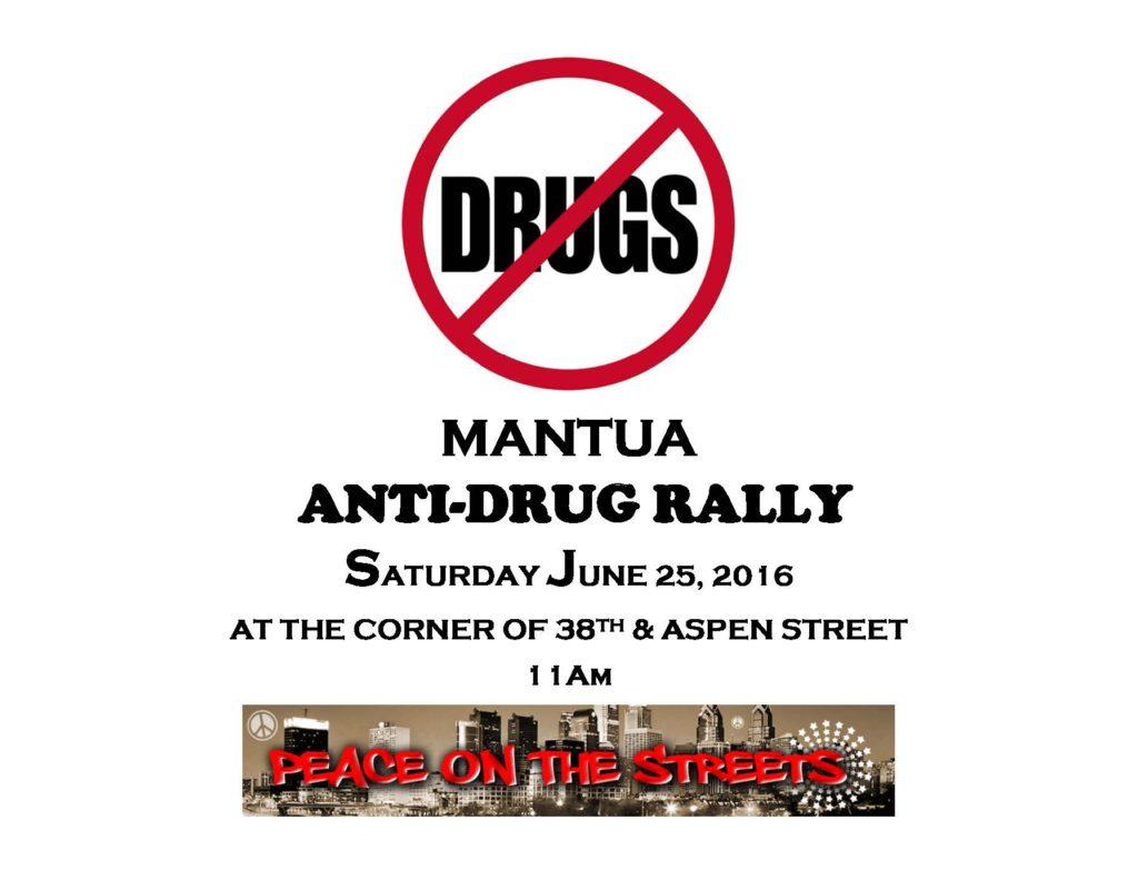 Mantua Anti-Violence Rally June 25