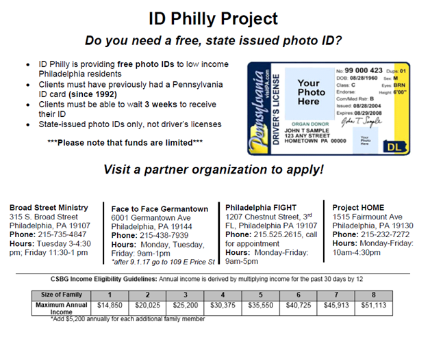 ID Philly Project